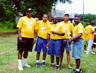 With A Few Of My Cousins At The 1999 Reunion
