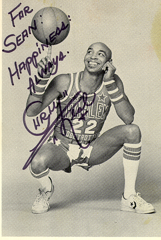 Curly Neal of the ORIGINAL Harlem Globetrotters