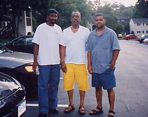 SD with Cousin Charlie & Dad (July 2003)