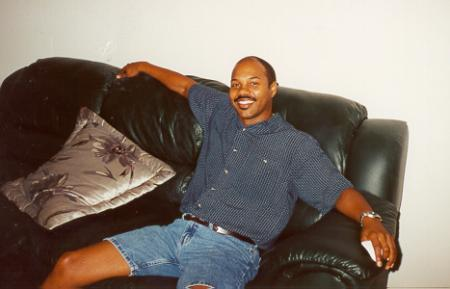 Jesse Edwards relaxing before Homecoming 2000