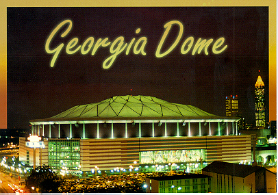 The Georgia Dome-Home of the Atlanta Falcons, 2000 Superbowl, and 2002 NCAA Final Four!!