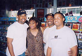 The Fellas & Eena @ Ameoba Records In Los Angeles, CA. (July 2003)