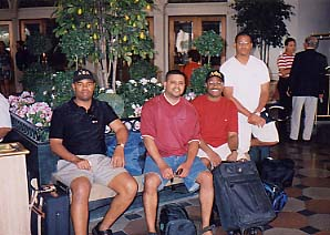 Chillin In Vegas w/Tracy, Duane, and Kevin (July 2003)
