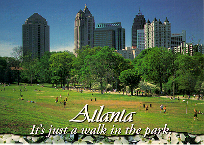Piedmont Park in Midtown Atlanta