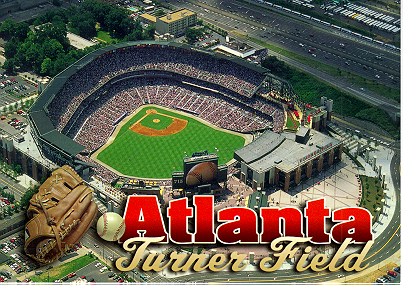 Turner Field-Home of the Atlanta Braves